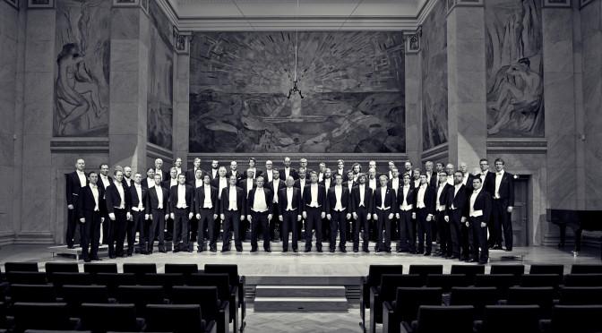 Konsertkoret med dirigent Carl Høgset, 19. april 2012. Foto: Alexander Håbesland