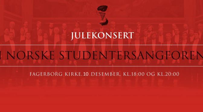 Julekonsert med Studentersangforeningen